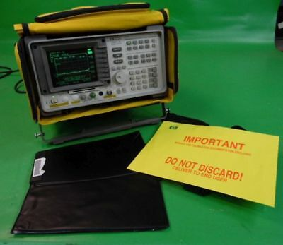 HP Agilent Keysight 8591C Cable TV Analyzer 1 MHz-1.8 GHz w/ case & Calibration