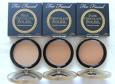 Too Faced Bronzer *Pick Shade* Full Size (Chocolate Soleil, Milk Chocolate)