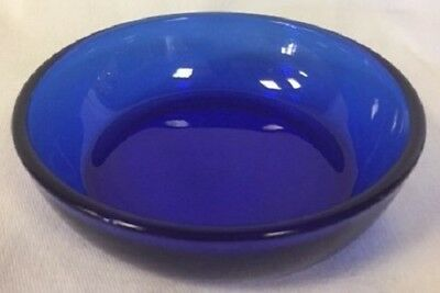 Bowl - Plain & Simple - Cobalt Blue Glass - Mosser USA - Medium