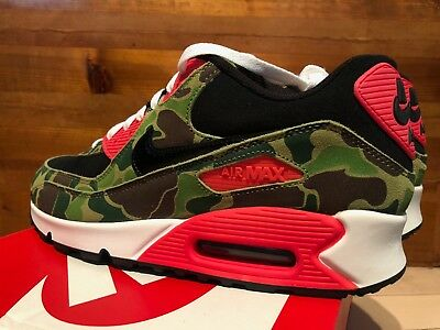 DS NIKE 2013 AIR MAX 90 ATMOS DUCK CAMO INFRARED 12 PATTA