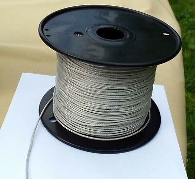 2MM X 10M White Dyneema® Fiber Synthetic Fishing/Winch/Yacht Marine rope T:480kg