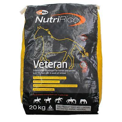 Nutririce Veteran Coprice For Working Or Retired Horses Horse Feed Food 20kg