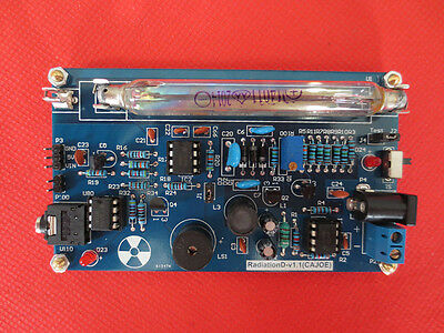 US Assembled DIY Geiger Counter Kit Nuclear Radiation Detector Arduino Tube 2018