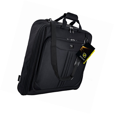 ZEGUR 40-Inch 3 Suit Carry On Garment Bag for Travel or Business Trips - 26fc278a2b232