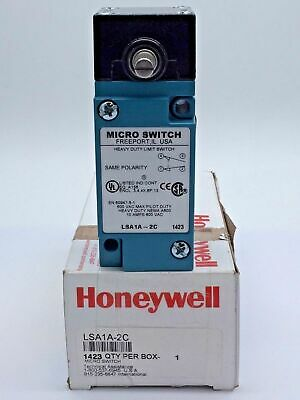 Honeywell LSA1A-2C Heavy-Duty Limit Switch Micro HDLS Series Plug-in side rotary