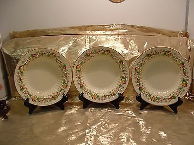 Crown Ducal England China - Melrose Pattern  3 - Coupe Soup Bowls