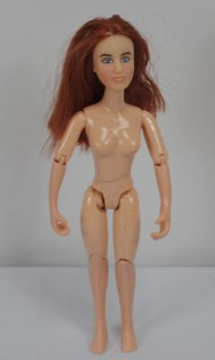 BREYER HORSE RIDER GIRL Red Headed COWGIRL DOLL Nude