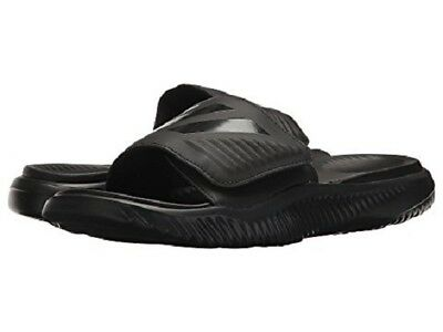 51a0c9fb03a23 Adidas Mens Alphabounce Slide Black Sandals 2018   all Sizes Best Seller