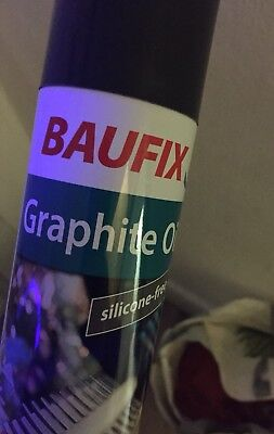 baufix graphite oil silicon free Made In Germany