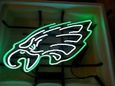 "New Philadelphia Eagles Neon Light Sign 17""x14"""