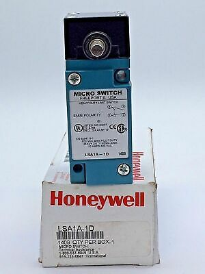 Honeywell LSA1A-1D Micro Limit Switch SW 1NC 1NO SPDT Side Rotary excl. Striker