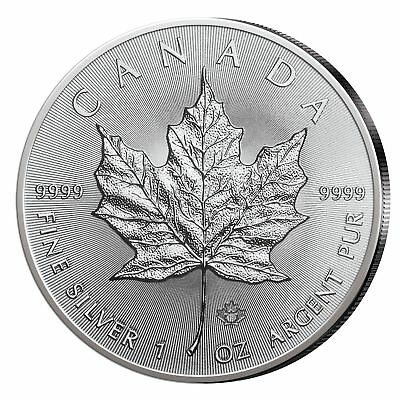 Kanada Maple Leaf 5$ 2018 999,9er Silber 1oz