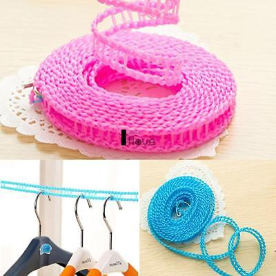 Nylon Clothes Hanging Drying Ropes Non-Slip Windproof Clothes Washing ILOE
