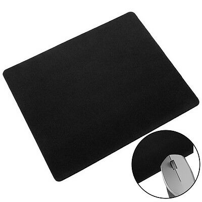 Black Mouse Pad Gaming Mouse Mat Mouse Pad Mousepad Smooth Surface Rubber  UKPL