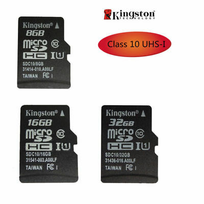 KINGSTON MICRO SD TF Scheda di memoria 8GB/16GB/32GB SDHC UHS-I C10 per