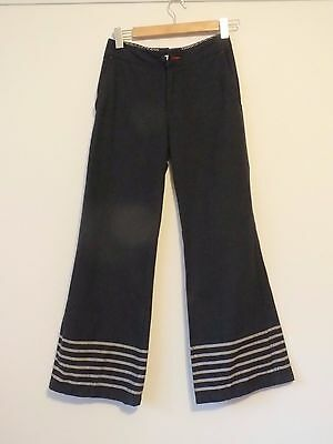 Vintage/Retro Pants. Blue & White. Sailor Style.