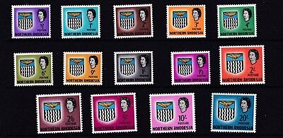 Northern Rhodesia 1963  Set Of 14 Mh