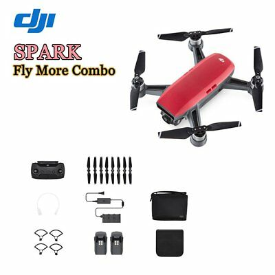 dji spark fly more combo quadcopter drone 12mp wei brand new eur 559 00 picclick de. Black Bedroom Furniture Sets. Home Design Ideas