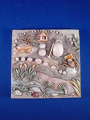 Byron's Secret Garden ZEN GARDEN Harmony Kingdom picturesque Used w/ Box