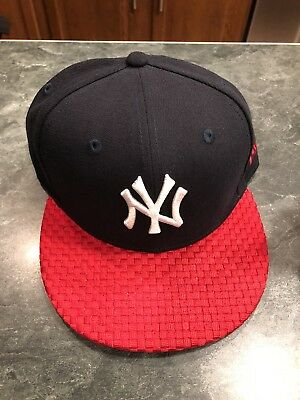 new product 76b3e 569aa ... new arrivals new york yankees fitted hat cap 5950 mlb wolverine style  bill new era size