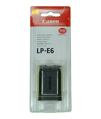 Canon Original LP-E6 Li-Ion Battery EOS 7D 60D 5D2 5D 70D 6D