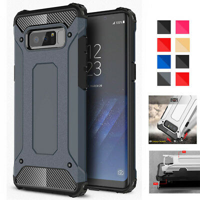 For Samsung Galaxy Note8 A8 2018 Hybrid Rugged Armor Shockproof Phone Case Cover