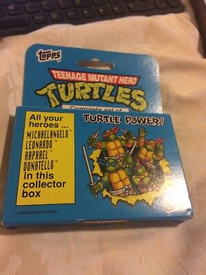 Tmnt Teenage Mutant Hero Turtles ** (66 Card Collector Series) - Topps **rare**