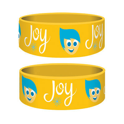 Inside Out Joy Silicone Rubber Junior Wristband Bracelet Gummy Official Merchand