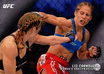Liz Carmouche (#7) UFC 2015 Topps Knockout  187/199. New.