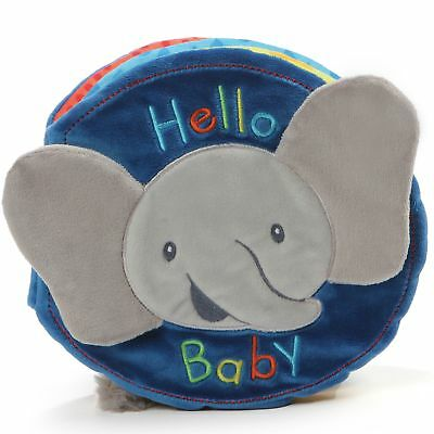 Gund Baby 4060905 Flappy the Elephant Book Soft Plush Toy