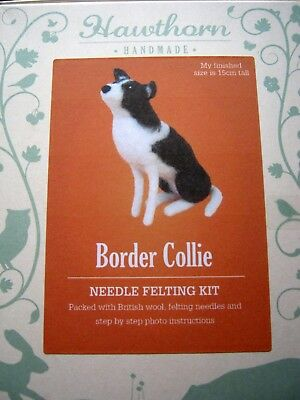 BORDER COLLIE DOG - Hawthorn Handmade Needle Felting Kit