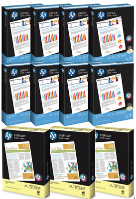 HP A4 WHITE-PAPER 75G- 80GSM-PRINTER-COPIER-1-2-3-4-5-10 Full Boxes