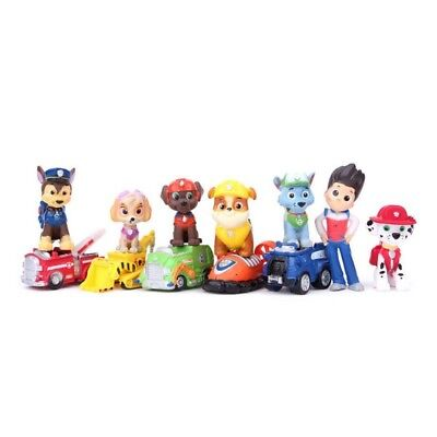 Paw Patrol Cake Decorations Toppers Birthday Toys Puppy Dog Figures 12 Piece Set