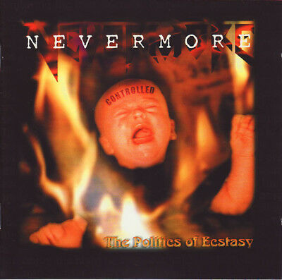 Nevermore - The Politics Of Ecstasy 2-LP, 2016, Re-Release, Special Edition,180g