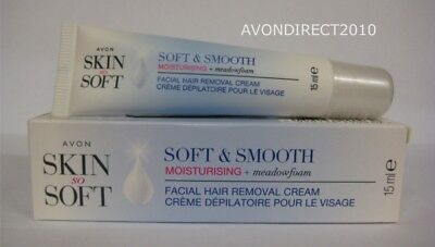 Avon Skin So Soft & Smoothing Moisturising Facial Hair Removal Cream