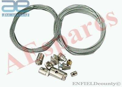 Universal Motorcycle Bike Throttle Clutch Cable Repair Kit Inner Cable @au