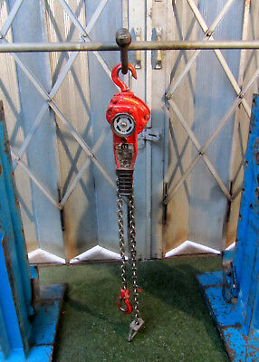 750kg Pull Lift Heavy Duty Lever Hoist Ratchet Winch 1.5Mtr Drop REF 6585/D