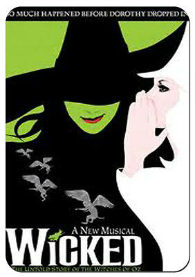 Wicked the Musical Broadway Refigerator Photo Fridge Magnet
