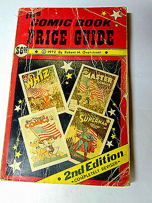 1972 Overstreet Comic Book Price Guide #2 Good 1st Edition