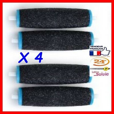 4 rouleaux de recharge compatible Rape Scholl Velvet Smooth Express Pédi Diamant