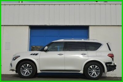 2016 Infiniti QX80  Repairable Rebuildable Salvage Runs Great Project Builder Fixer Easy Fix Save