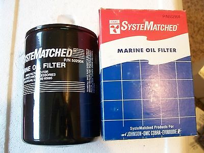 OMC/Evinrude/Johnson Marine Oil Filter, 502904, New in the Box