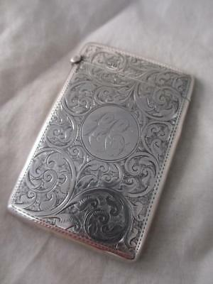 Sterling Silver Card Case JCL03000