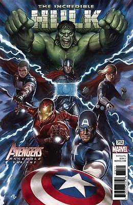 Incredible Hulk #712 Granov Avengers Var Leg - Marvel - Us-Comic - D758