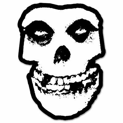 Misfits SKULL danzig Classic Rock Band Vinyl Car Sticker Decal  -4 Pack  2.5""