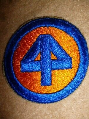 US Army WW2 - Original US Army 44th Infantry Division Embroidered Patch