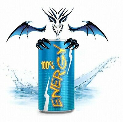 Liquid Energy Drink Dragon MixPack 50+100 ml - 0-3-6-9-12 mg/ml - Made in ...