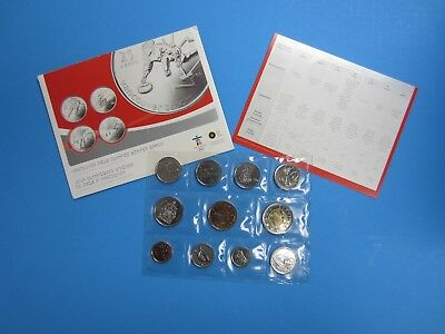 2007 Canada Special Edition UNC plus 25-cent 2010 Olympic Coins -- Ships Free *