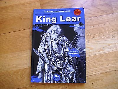KING LEAR william shakespeare with notes by Hugh Holmes unused book
