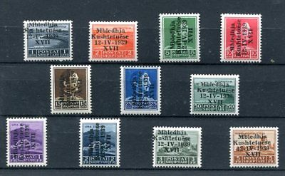 1939.albania.yvert 256A/256M .nuevos With Stamp Hinges(Mh).cat.60 €